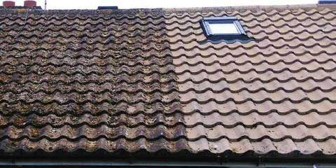 Bristol rated roof cleaning